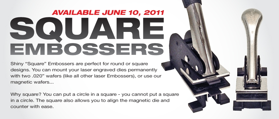 Sqare Embossers